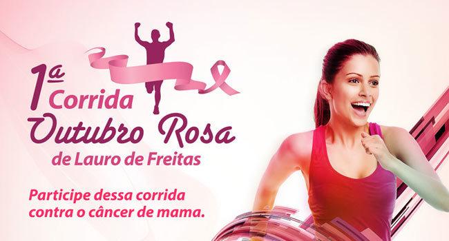 Núcleo da Mama promove 1ª Corrida Outubro Rosa