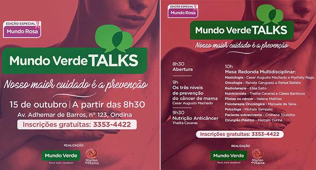 Núcleo da Mama no Mundo Verde Talks
